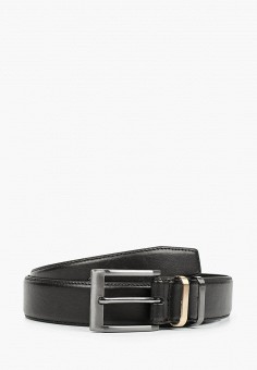 Ремень, Burton Menswear London, цвет: черный. Артикул: BU014DMJWYK1. Аксессуары