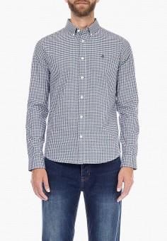 Рубашка, Burton Menswear London, цвет: синий. Артикул: BU014EMCMMY9. Одежда / Рубашки / Рубашки с длинным рукавом