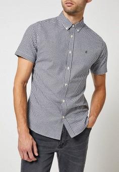 Рубашка, Burton Menswear London, цвет: синий. Артикул: BU014EMFJUQ3. Одежда / Рубашки