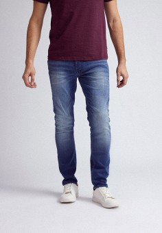 Джинсы, Burton Menswear London, цвет: синий. Артикул: BU014EMIHZB5. Одежда / Джинсы / Прямые джинсы