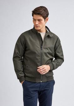 Куртка, Burton Menswear London, цвет: хаки. Артикул: BU014EMILNI3. Одежда / Верхняя одежда / Легкие куртки и ветровки