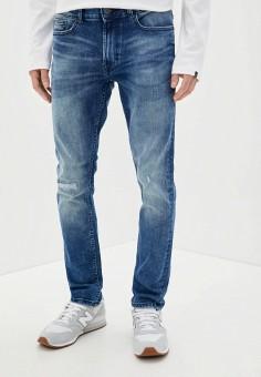 Джинсы, Burton Menswear London, цвет: синий. Артикул: BU014EMILNL6. Одежда / Джинсы / Прямые джинсы
