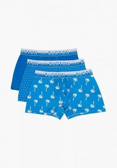 Комплект, Burton Menswear London, цвет: синий. Артикул: BU014EMIQTB2. Одежда / Нижнее белье