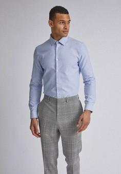 Рубашка, Burton Menswear London, цвет: голубой. Артикул: BU014EMIQTC0. Одежда / Рубашки