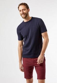 Джемпер, Burton Menswear London, цвет: синий. Артикул: BU014EMJWZE4. Одежда / Джемперы, свитеры и кардиганы / Джемперы и пуловеры