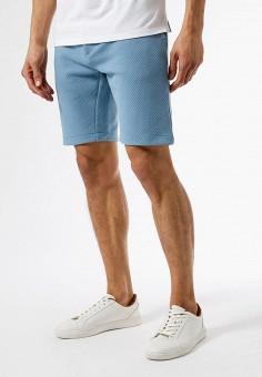 Шорты, Burton Menswear London, цвет: голубой. Артикул: BU014EMJYKW1. Одежда / Шорты