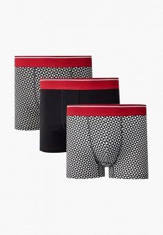 Комплект, Burton Menswear London, цвет: белый, черный. Артикул: BU014EMKFNH2. Одежда / Нижнее белье