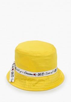 Панама, Button Blue, цвет: желтый. Артикул: BU019CGIFWK1. Девочкам / Аксессуары