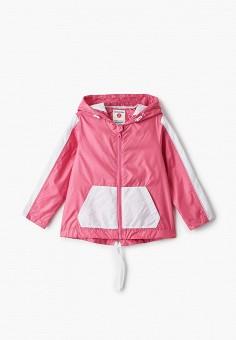 Ветровка, Button Blue, цвет: розовый. Артикул: BU019EBIFXY0. Девочкам / Одежда