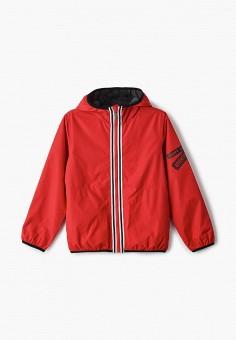 Ветровка, Button Blue, цвет: красный. Артикул: BU019EBIFYD5. Мальчикам / Одежда / Верхняя одежда