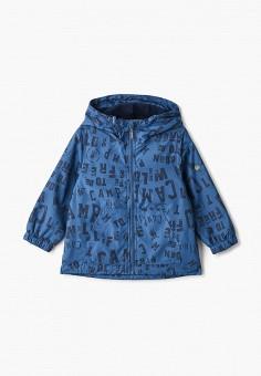 Ветровка, Button Blue, цвет: синий. Артикул: BU019EBIFYD9. Мальчикам / Одежда / Верхняя одежда