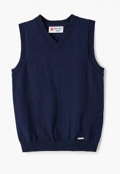 Жилет, Button Blue, цвет: синий. Артикул: BU019EBJPMM7. Мальчикам / Одежда