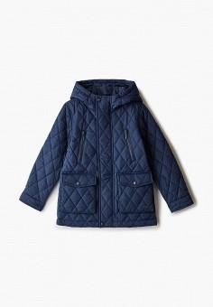 Куртка утепленная, Button Blue, цвет: синий. Артикул: BU019EBJPMN3. Мальчикам / Одежда / Верхняя одежда / Куртки и пуховики