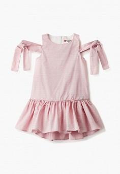 Платье, Button Blue, цвет: розовый. Артикул: BU019EGIFXS0. Девочкам / Одежда / Платья и сарафаны