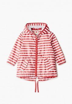 Ветровка, Button Blue, цвет: красный. Артикул: BU019EGIFXU9. Девочкам / Одежда / Верхняя одежда