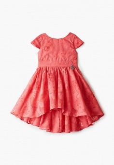 Платье, Button Blue, цвет: красный. Артикул: BU019EGIFXW8. Девочкам / Одежда / Платья и сарафаны