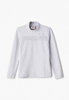 Водолазка, Button Blue, цвет: серый. Артикул: BU019EGJPMF9. Девочкам / Одежда