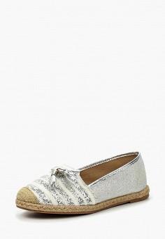 Эспадрильи, Buonarotti, цвет: серебряный. Артикул: BU020AWIXE86. Обувь / Эспадрильи