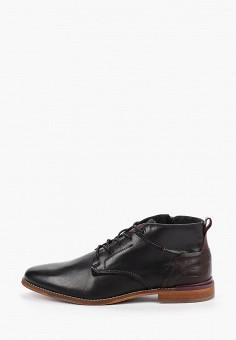 Ботинки, Bullboxer, цвет: черный. Артикул: BU470AMGVWR2. Обувь / Ботинки