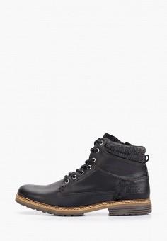 Ботинки, Bullboxer, цвет: черный. Артикул: BU470AMGVWS8. Обувь / Ботинки / Высокие ботинки