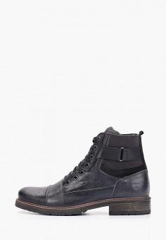 Ботинки, Bullboxer, цвет: черный. Артикул: BU470AMGVWS9. Обувь