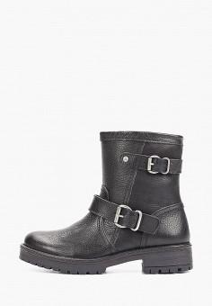 Полусапоги, Bullboxer, цвет: черный. Артикул: BU470AWGVWD4. Обувь / Сапоги / Полусапоги