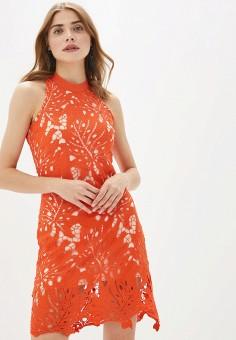 Платье, By Swan, цвет: красный. Артикул: BY004EWFNRN3. Одежда / Платья и сарафаны / Вечерние платья