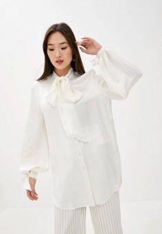 Блуза, By Malene Birger, цвет: белый. Артикул: BY009EWHOJZ8. Premium