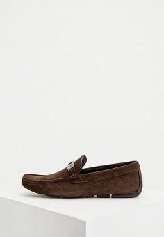 Мокасины, Cavalli Class, цвет: коричневый. Артикул: CA078AMKIFM1. Обувь / Мокасины и топсайдеры