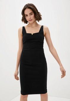 Платье, Cavalli Class, цвет: черный. Артикул: CA078EWIAKW2. Одежда / Платья и сарафаны / Вечерние платья