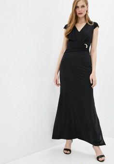 Платье, Cavalli Class, цвет: черный. Артикул: CA078EWIAKX5. Одежда / Платья и сарафаны / Вечерние платья
