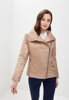 Куртка утепленная, Camomilla Italia, цвет: бежевый. Артикул: CA097EWEVRX9. Одежда / Верхняя одежда / Демисезонные куртки