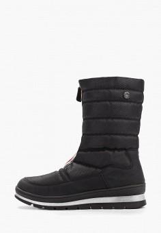 Дутики, Caprice, цвет: черный. Артикул: CA107AWFNYP8. Обувь / Сапоги