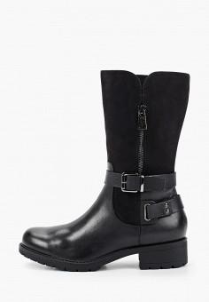 Полусапоги, Caprice, цвет: черный. Артикул: CA107AWFNYQ1. Обувь / Сапоги / Полусапоги
