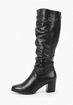 Сапоги, Caprice, цвет: черный. Артикул: CA107AWFNZC3. Обувь / Сапоги