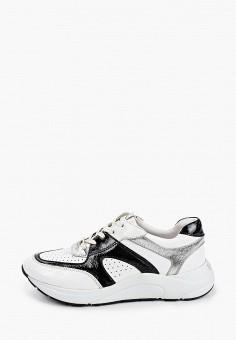 Кроссовки, Caprice, цвет: белый. Артикул: CA107AWIACV3. Обувь / Обувь с увеличенной полнотой