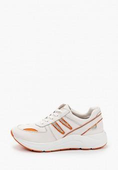 Кроссовки, Caprice, цвет: серый. Артикул: CA107AWIACV7. Обувь / Обувь с увеличенной полнотой