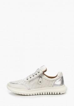 Кроссовки, Caprice, цвет: серый. Артикул: CA107AWIACW2. Обувь / Обувь с увеличенной полнотой