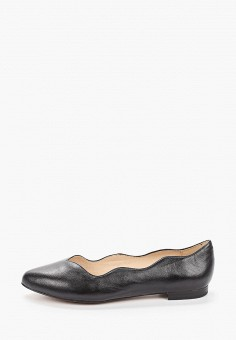 Балетки, Caprice, цвет: черный. Артикул: CA107AWIADC9. Обувь / Балетки