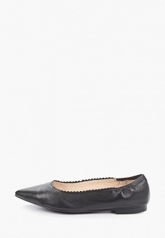 Балетки, Caprice, цвет: черный. Артикул: CA107AWIADD8. Обувь / Балетки