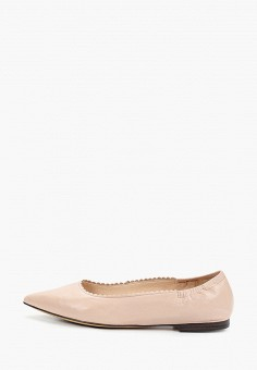 Балетки, Caprice, цвет: розовый. Артикул: CA107AWIADE0. Обувь / Балетки