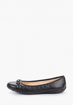 Балетки, Caprice, цвет: черный. Артикул: CA107AWIADF1. Обувь / Балетки