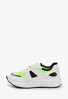 Кроссовки, Caprice, цвет: белый. Артикул: CA107AWIADH1. Обувь / Обувь с увеличенной полнотой
