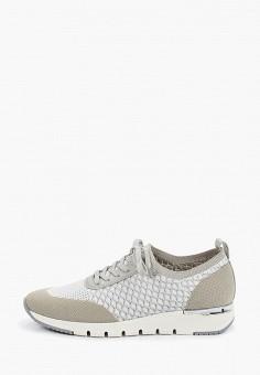 Кроссовки, Caprice, цвет: серый. Артикул: CA107AWIADH8. Обувь