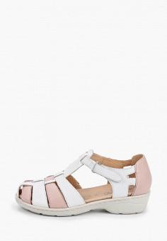 Туфли, Caprice, цвет: белый. Артикул: CA107AWIADK4. Обувь / Обувь с увеличенной полнотой
