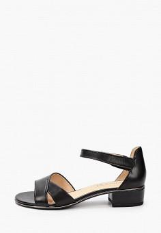 Босоножки, Caprice, цвет: черный. Артикул: CA107AWIADP0. Обувь / Обувь с увеличенной полнотой
