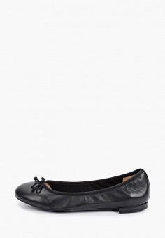 Балетки, Caprice, цвет: черный. Артикул: CA107AWIAEC7. Обувь / Балетки