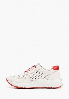 Кроссовки, Caprice, цвет: бежевый. Артикул: CA107AWIAEM0. Обувь / Обувь с увеличенной полнотой