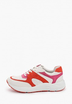 Кроссовки, Caprice, цвет: белый. Артикул: CA107AWIAEM3. Обувь / Обувь с увеличенной полнотой