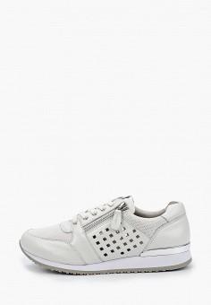 Кроссовки, Caprice, цвет: белый. Артикул: CA107AWIAEM6. Обувь / Обувь с увеличенной полнотой
